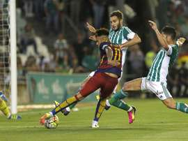 Neymar también es un experto pasador. EFE