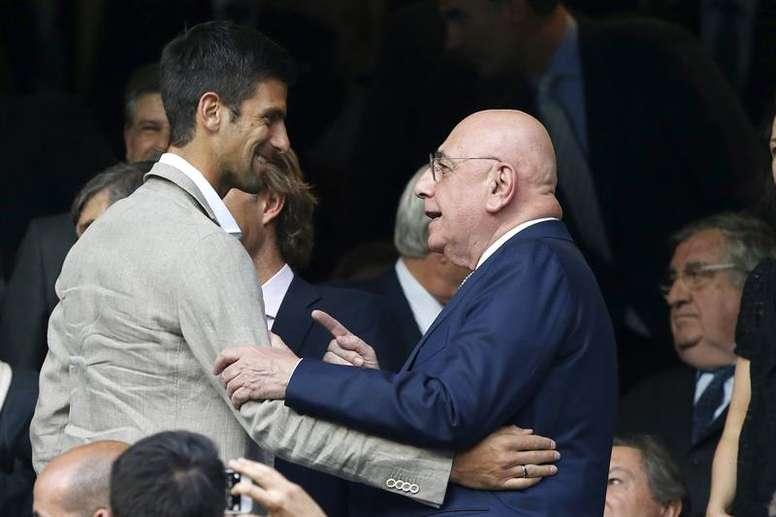 Adriano Galliani quiere a Ibrahimovic para el Milan. EFE