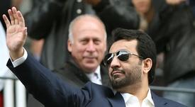 Al Thani habló sobre la situación del club. EFE/Archivo