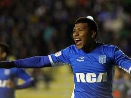 L'attaquant colombien Roger Martinez ne viendra finalement pas à Lyon. EFE