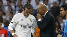 Zidane and Bale are known to share an uneasy relationship. EFE