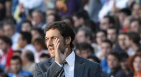 El entrenador Santi Denia. EFE/Archivo