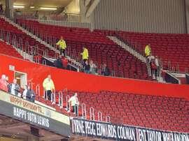 Los estadios británicos podrían acoger el Mundial 2030. EFE