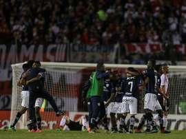 Independiente del Valle ha hecho historia al clasificarse por primera vez para semifinales. EFE