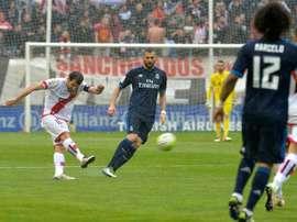 Les compos probables du match de Liga entre le Real Madrid et le Rayo. EFE
