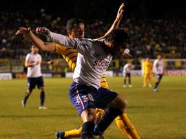 El jugador de Boca podría perderse el partido de la Copa Libertadores. EFE