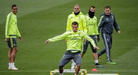 Luis Llopis a laissé un bon souvenir à Madrid. EFE