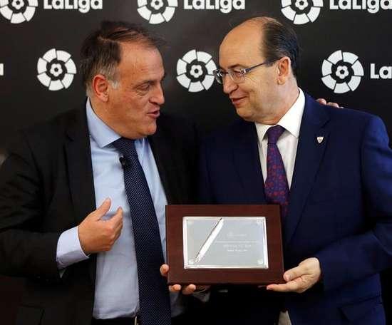 LaLiga cartonne les joueurs du FC Séville. EFE