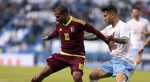 Gran partido amistoso entre el combinado gallego y Venezuela. EFE