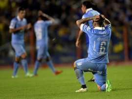 Bolívar venció a The Strongest. EFE/Archivo