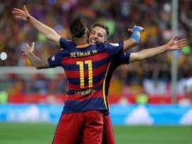 Jordi Alba s'est exprimé sur la situation de Neymar. EFE