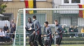 Seis belgas en activo, en el once histórico del país. EFE