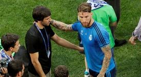 Sergio Ramos veut rejoindre la légende du Real. EFE