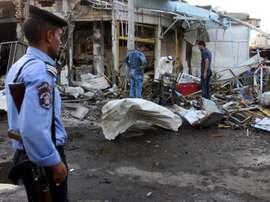 El terror ha vuelto a sacudir los cimientos del fútbol iraquí. EFE/Archivo