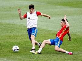 Meré dans le viseur du Barça. EFE