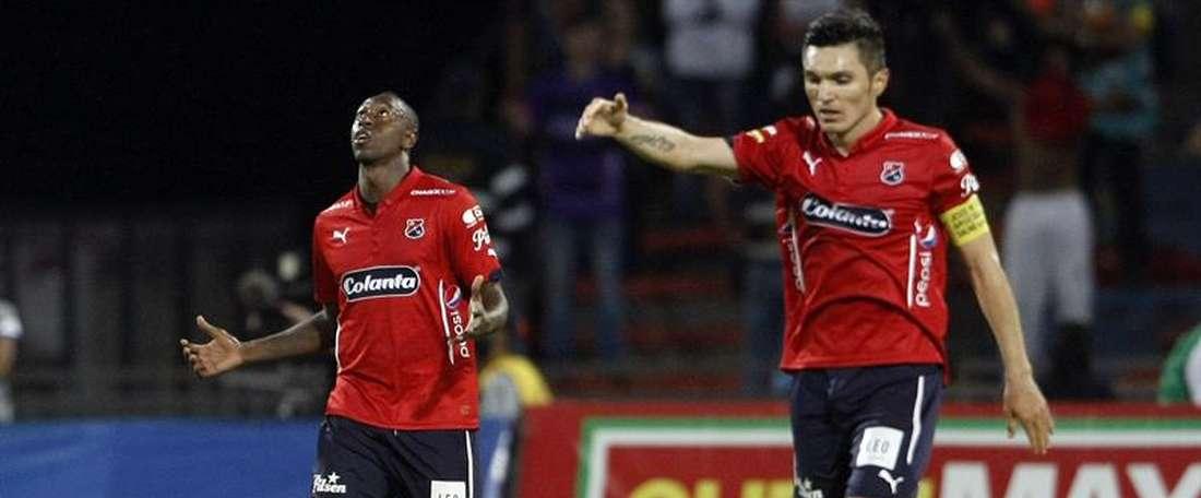 El Deportivo Medellín realizó gris, pero se llevó los tres puntos. EFE
