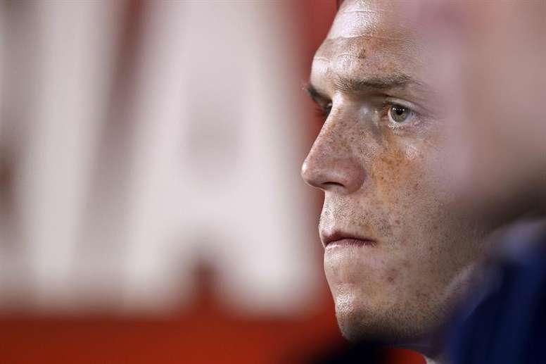 El antiguo internacional danés tuvo que dejar el fútbol por sus problemas con los medicamentos. EFE