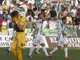 El Córdoba sigue dejando buenas sensaciones en la pretemporada. EFE