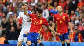 Silva et Iniesta... dans la même équipe ? EFE