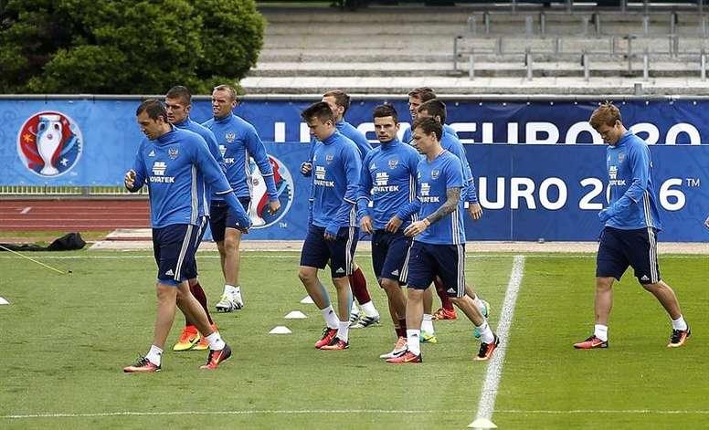 Ignatjev, preparado para jugar ante España. EFE