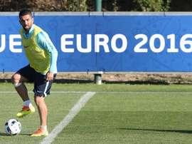 O meio-campista do Barcelona vai retornar apenas três meses depois de se ter retirado. EFE/Archivo