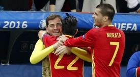 Casillas no pierde la ilusión. EFE