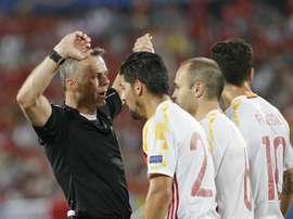 La agresión ocurrió en un partido de entre dos equipos benjamines. AFP