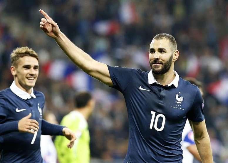 Karim Benzema could return to the France national team. EFE