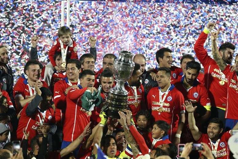 Acusan a Chile de amañar el sorteo de la Copa América 2015. EFE