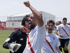 Felipe Carballo reforzará el filial hispalense. EFE