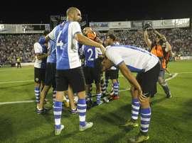 El Hércules ha vencido al filial del Zaragoza. EFE/Archivo