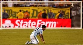 Quatre ans de la victoire du Chili contre l'Argentine. EFE