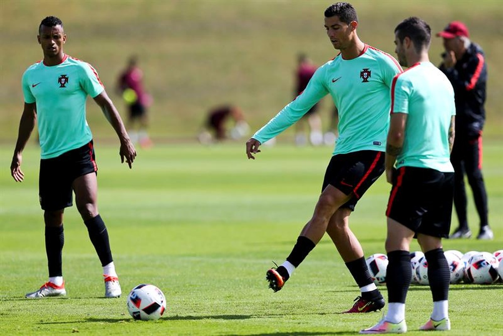 Nani habló sobre Cristiano Ronaldo. EFE