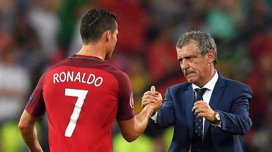 Santos was adamant that Ronaldo should have won the award. EFE