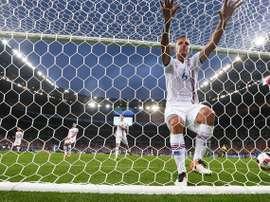 Islandia cayó por 2-3 ante Noruega. EFE/EPA