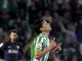 Lolo Reyes jugó en el Betis. EFE