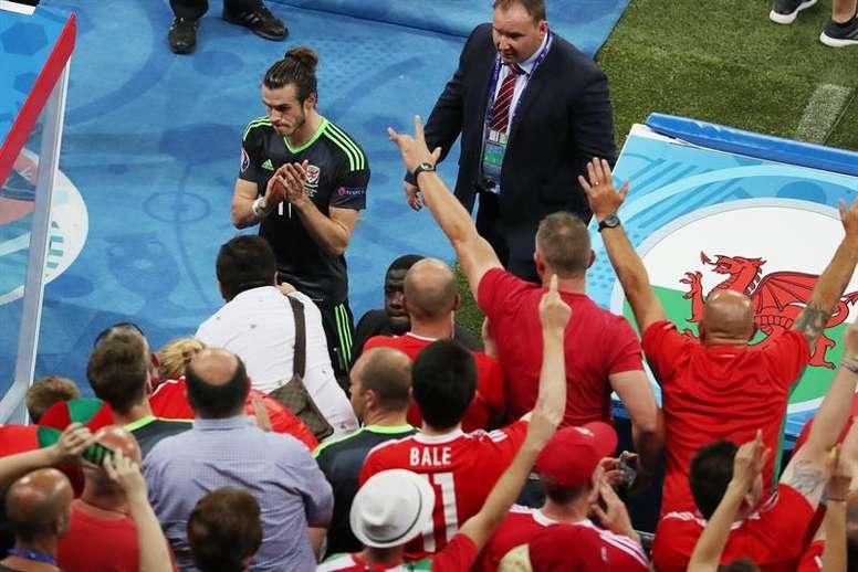Bale didn't participate. AFP