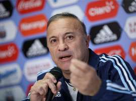 El seleccionador argentino, decepcionado con los Juegos de su selección. EFE