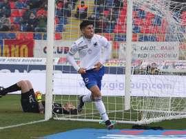 Sevilla are set to sign Sampdoria midfielder Joaquin Correa on a five-year deal. EFE/Archivo