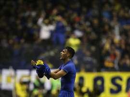 Boca goleó 5-0 a Gimnasia y Tiro en su último partido de la Copa Argentina. EFE/David Fernández
