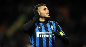 Inter striker Mauro Icardi is going to hold talks with Arsenal over a summer move. EFE