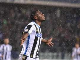 El Udinese ha dejado al Palermo al borde del abismo. EFE/Archivo