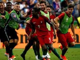Portugal sólo piensa en vencer a Letonia. EFE
