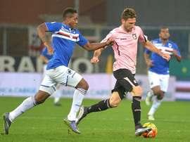 Carlos Carbonero continuará una temporada más en la Sampdoria. EFE