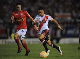 Gonzalo Martinez attise les convoitises du Sporting Lisbonne. EFE