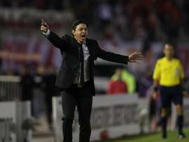 Gallardo ya puede contar con Alario, Mina y Moreira. EFE