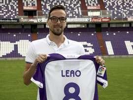 André Leao compareció en rueda de prensa antes del duelo contra el Zaragoza. EFE/Archvo