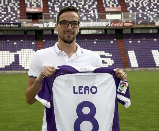 Leao deja el Valladolid y pone rumbo a Portugal. EFE