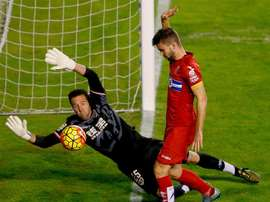 El defensor del Espanyol ya se ha recuperado de su lesión muscular. EFE