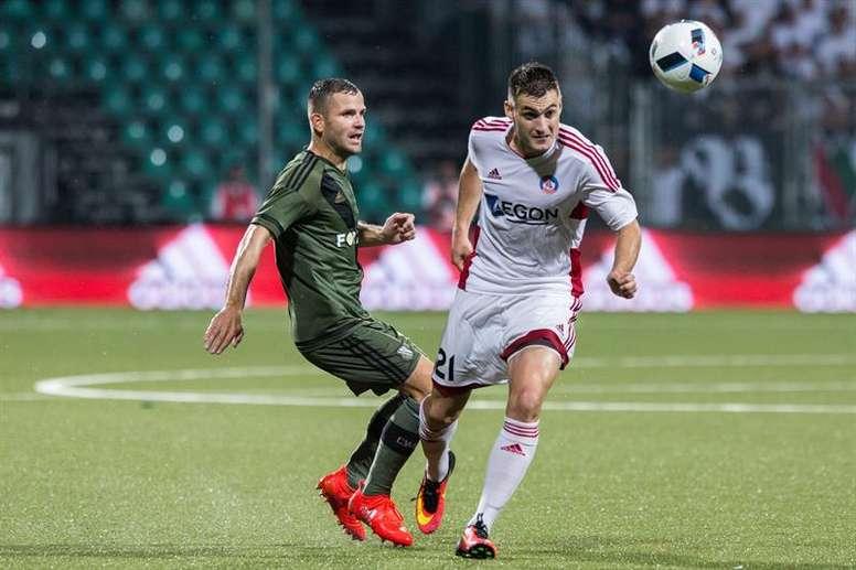 Tomasz Brzyski cambia Varsovia por Cracovia. EFE